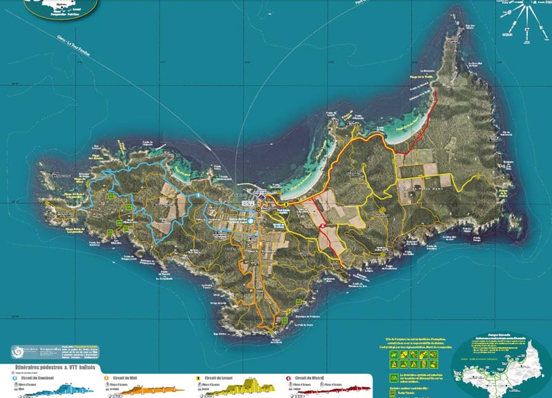 Circuits et itinéraires - Office de tourisme d'Hyères et ses îles