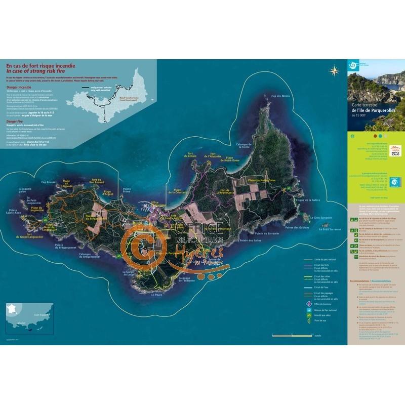 Circuits et itin raires office de tourisme d 39 hy res - Office du tourisme ile de porquerolles ...