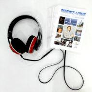 Bibliothèque sonore, l'agenda en MP3