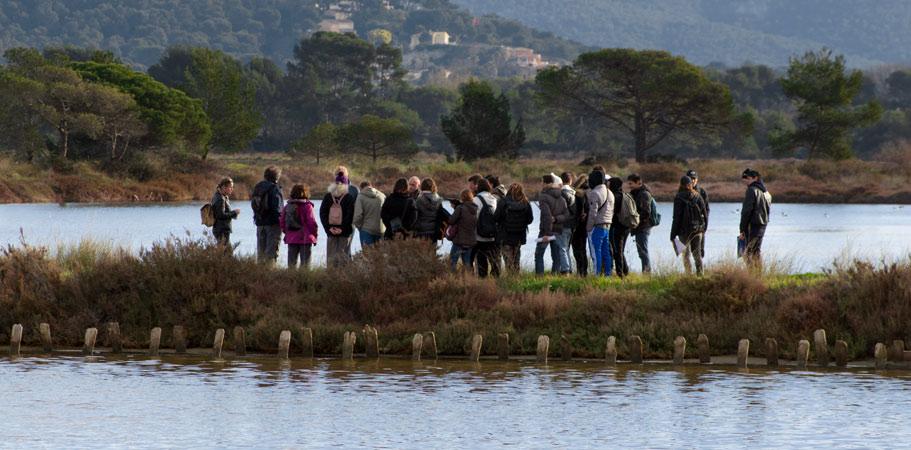 Le salin des pesquiers sont une belle visite a faire en groupe, scolaire, séminaires