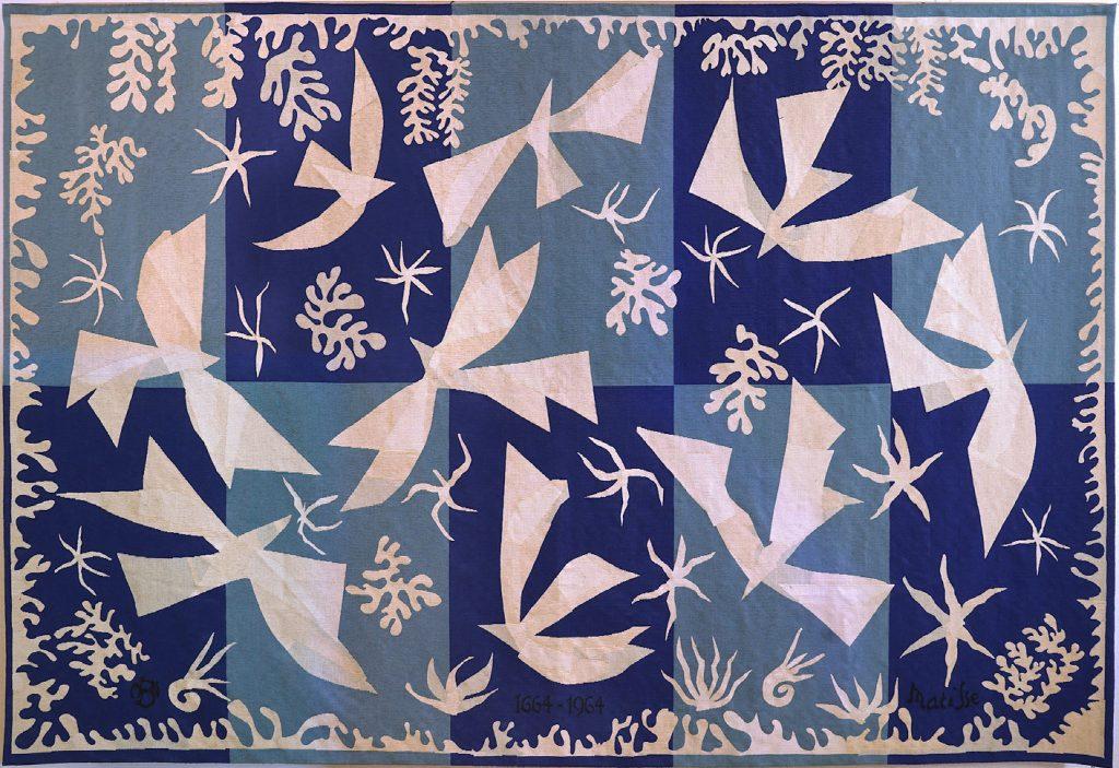 Henri Matisse - Polynésie, le ciel (tapisserie), 1964 Ville de Beauvais. Photo : Sophie Goullieux. © Succession H. Matisse
