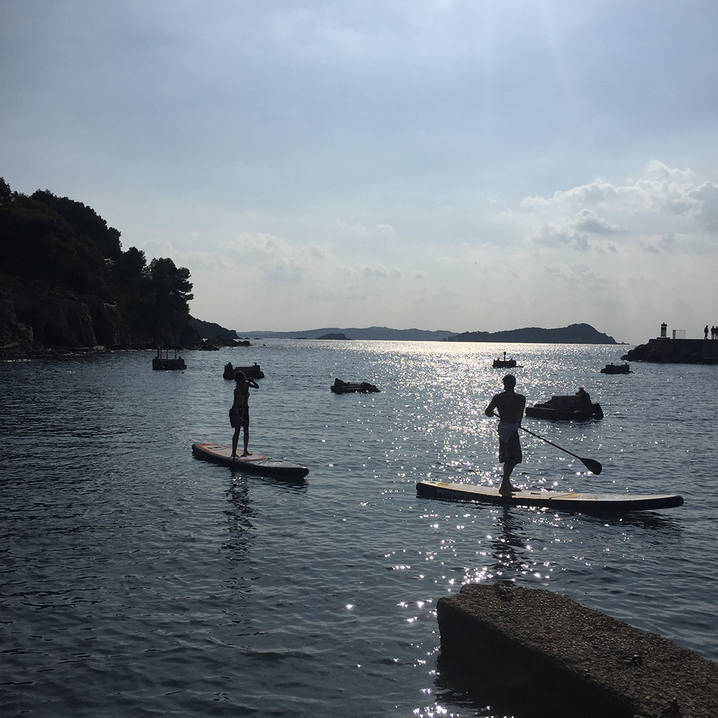 Le Niel est un point de départ fantastique pour les randonnées en paddle ou en kayak.