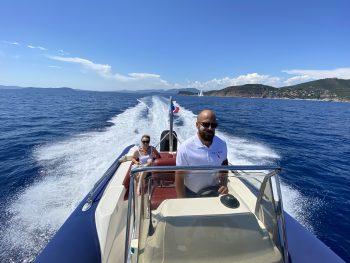 Balade en mer avec Searide
