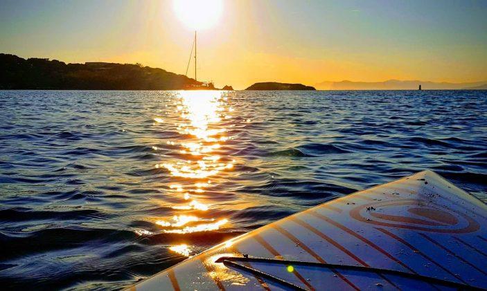 Balade en mer et paddle à Porquerolles