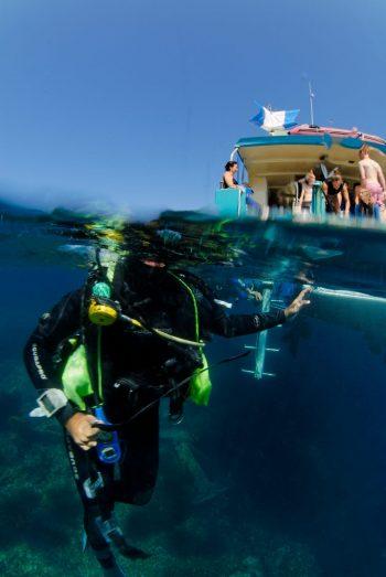 Bapteme de plongée Espace Mer