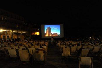 Cinéma plein air Hyeres centre-ville
