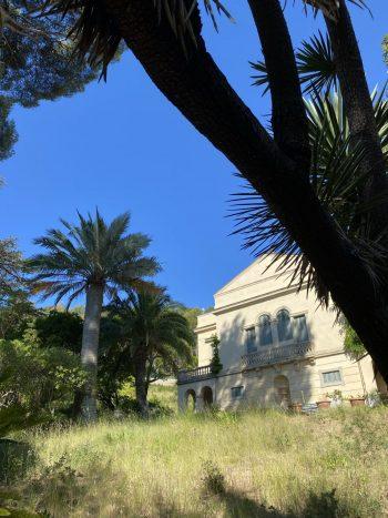 La maison de Paul Bourget dans le Plantier de Costebelle