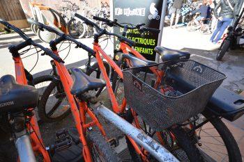 La Bécane location VTT et vélos électriques Porquerolles Parc National
