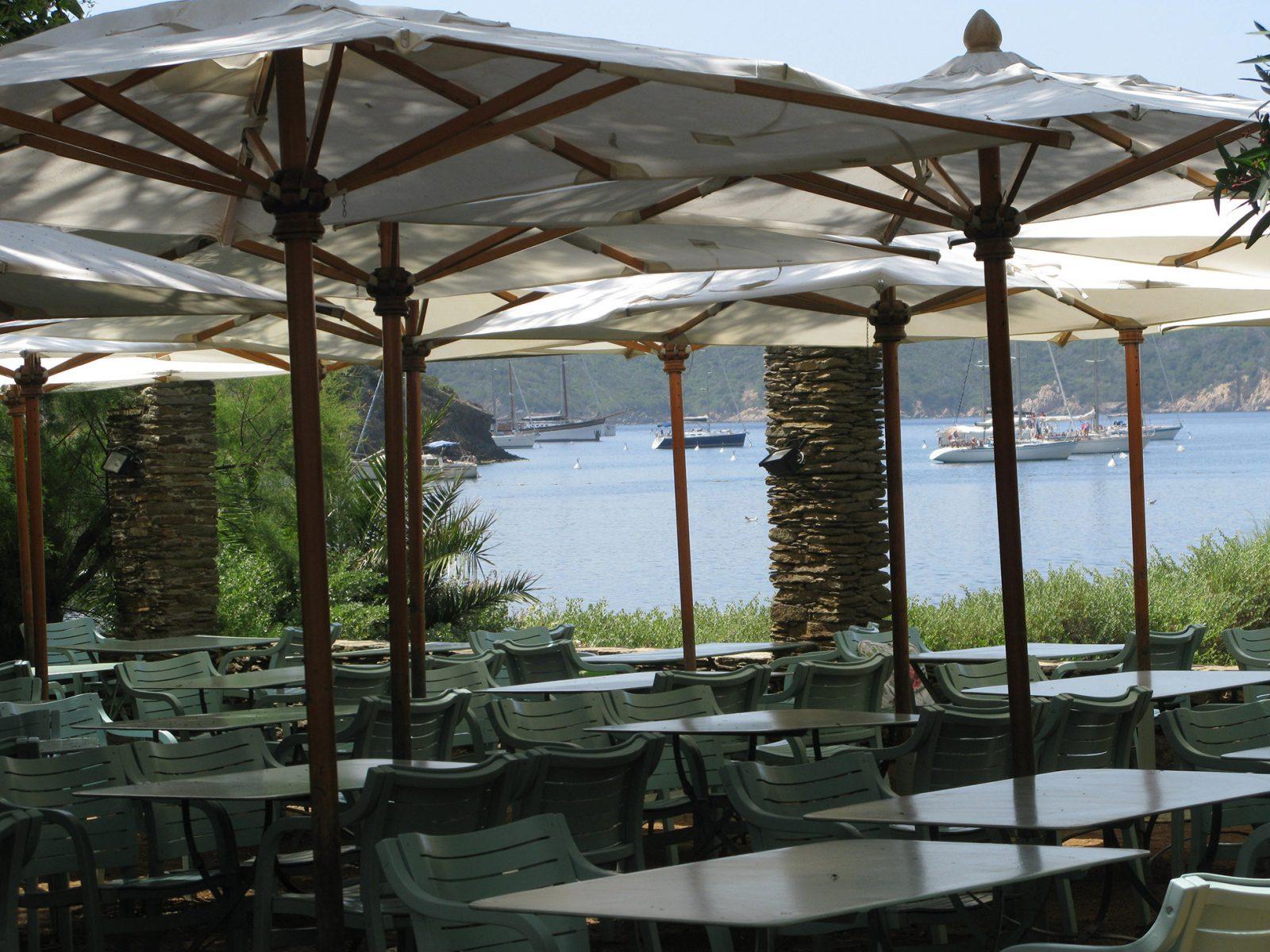 Le manoir de port cros restaurant sur l ile parc national