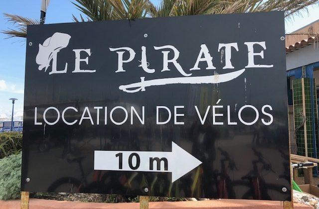 le pirate location de vélos à Porquerolles