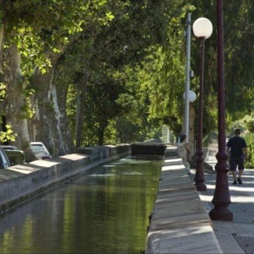 Le canal Jean Natte à La Crau