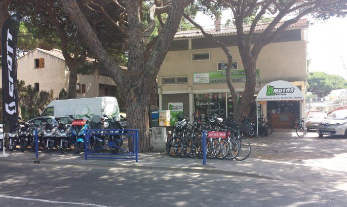 A Motos-location de vélo et Moto Hyeres Port