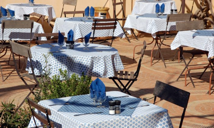 Restaurant Porquerolles Glycines