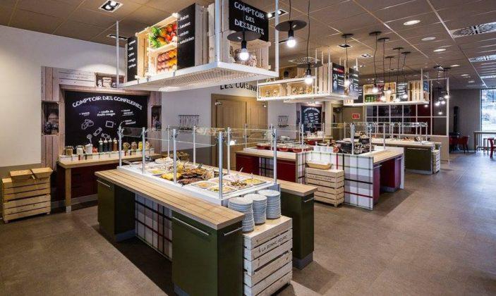 Cafétéria Hyeres centre commercial
