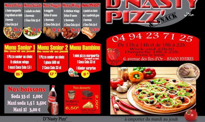 restaurant snack pizzeria hyeres centre