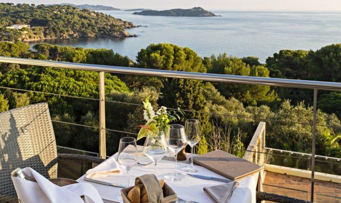 Restaurant hyeres presqu'île giens mer plage
