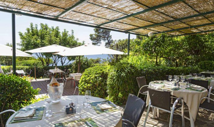 restaurant hyeres presqu'île giens mer crique