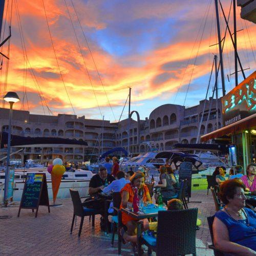restaurant hyeres port mer