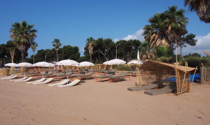 Restaurant hyeres plage lounge transat