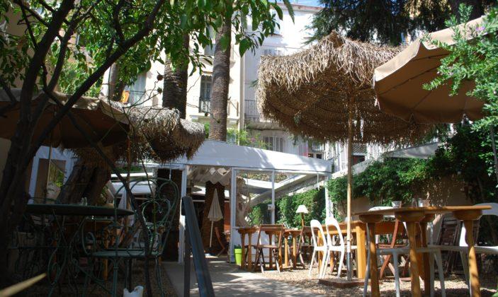 restaurant hyeres centre jardin