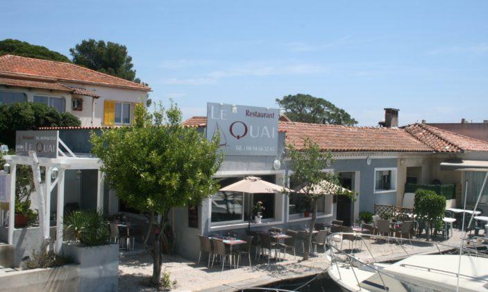 restaurant hyeres ayguade quai port mer plage