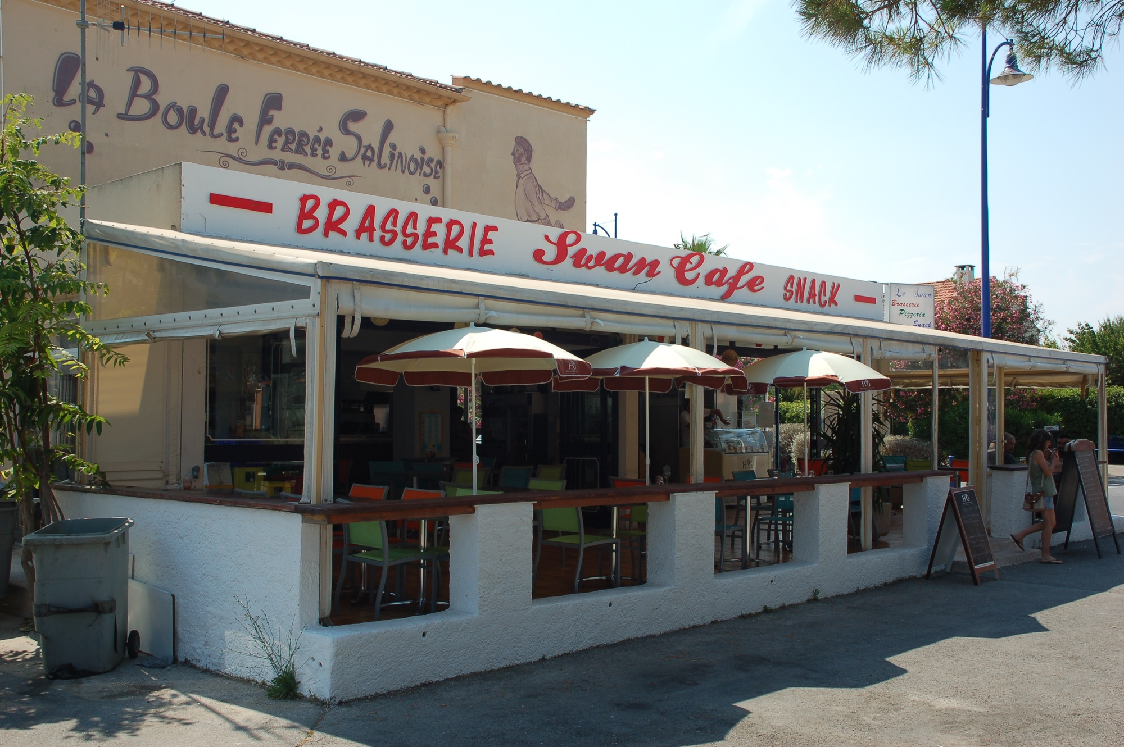 restaurant hyeres salins plage mer port