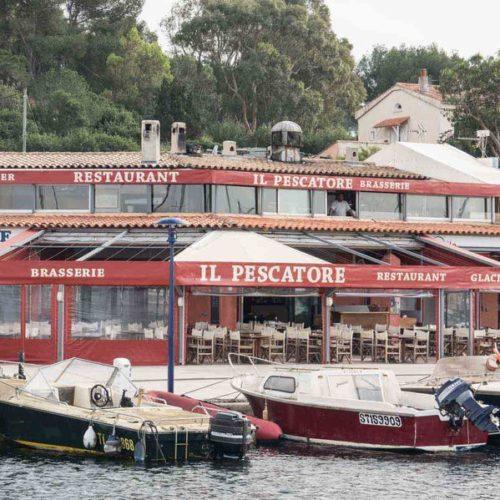 Restaurant Porquerolles IL Pescatore Port Mer Ile