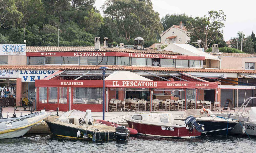 Il pescatore hy res restaurant office de tourisme d - Office du tourisme ile de porquerolles ...