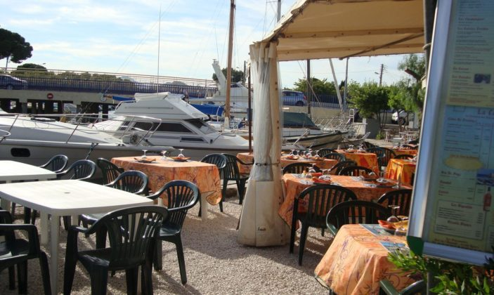 restaurant hyeres port ayguade plaisanciers
