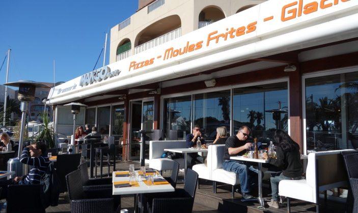 restaurant port hyeres brasserie glacier