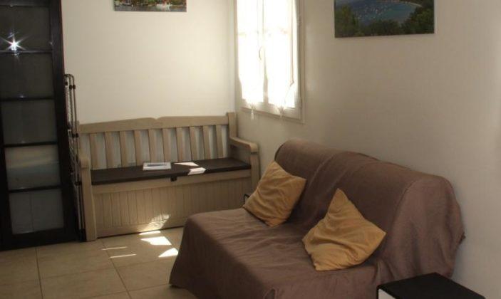 Appartement studio île Porquerolles centre village M.Bonnet