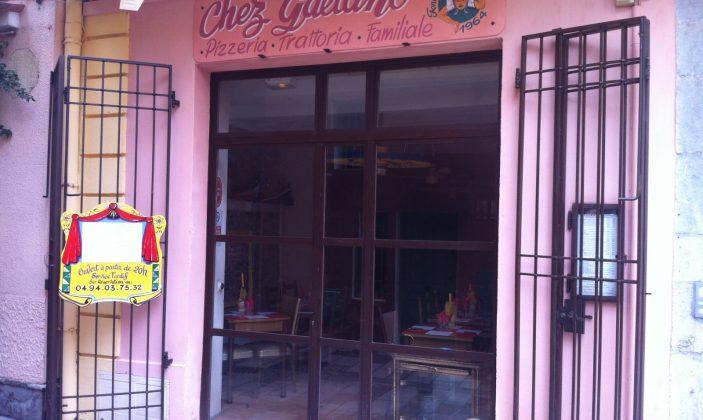 restaurant pizzeria hyeres centre gaetano