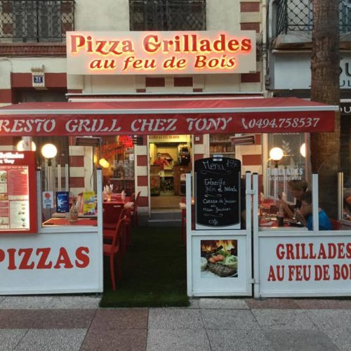 restaurant grill pizza hyeres centre tony