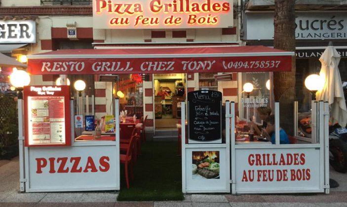 restaurant grill pizza hyeres centre tony