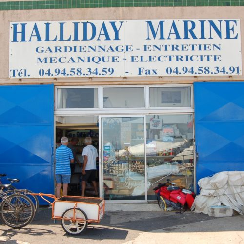 Porquerolles accastillage shipchandler mécanique marine gardiennage bateaux
