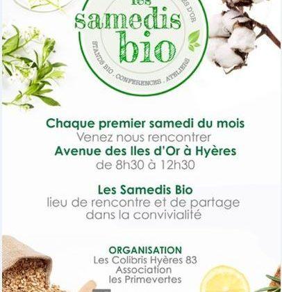marché bio hyeres colibris