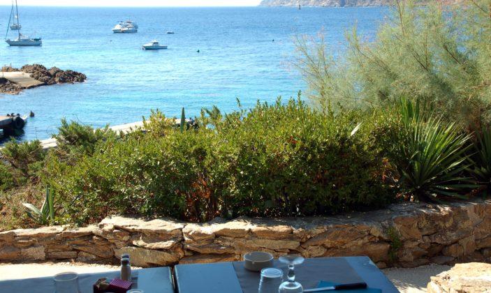 Restaurant Gambaro Le Levant Ile Vue mer