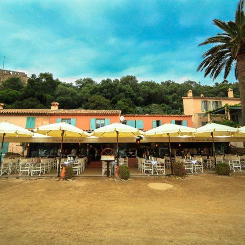 Restaurant Port-Cros Ile l'anse de Port-Cros