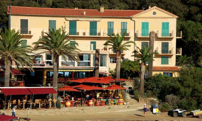 Restaurant Parc National Port-Cros Hostellerie Provençale Ile Vue mer