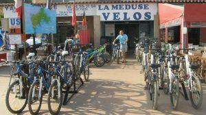 Location de vélos Porquerolles La Méduse Ile