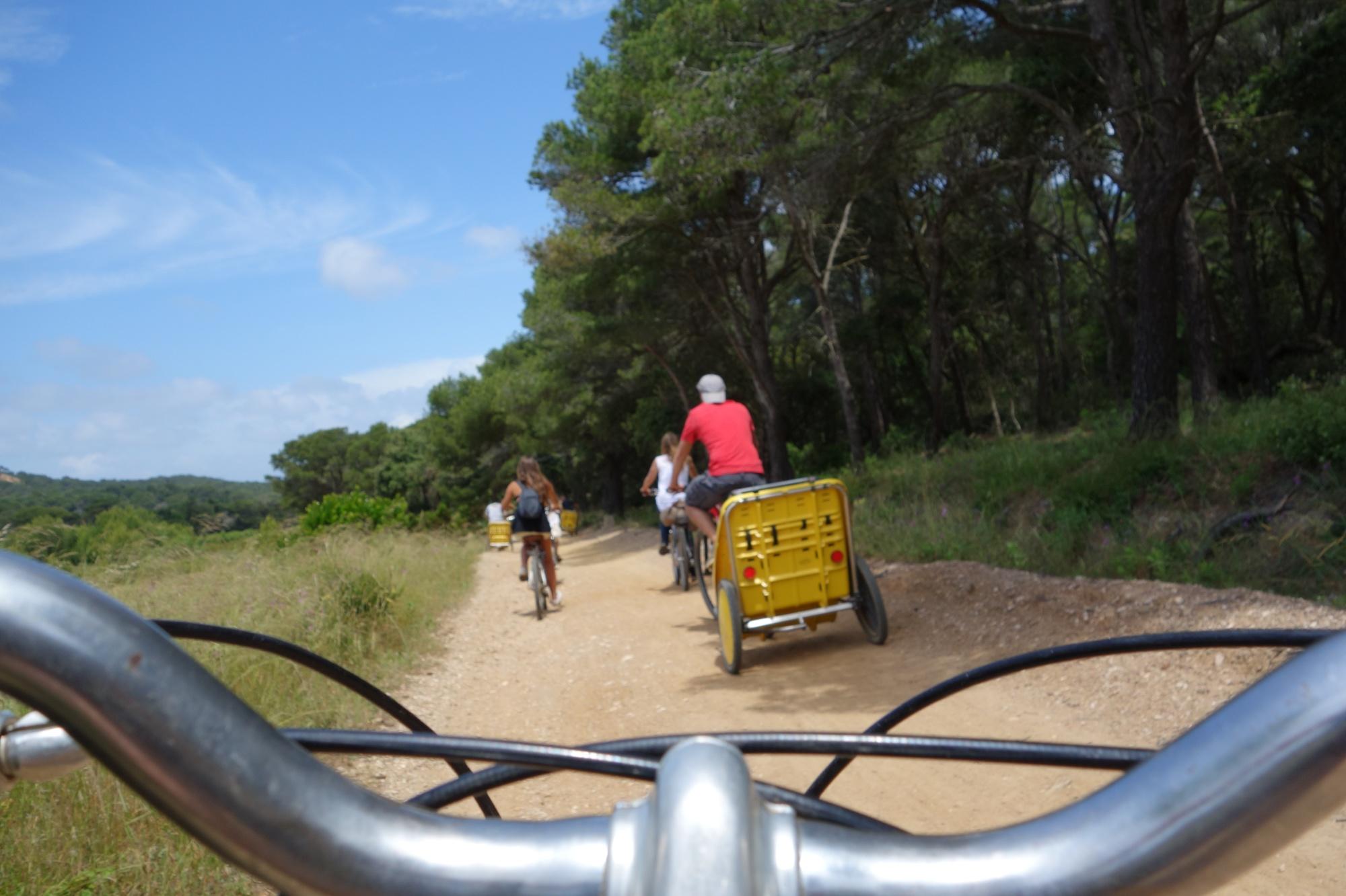 Location de vélos Porquerolles L'île aux trésors