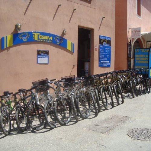 Location de vélo Porquerolles le Team Ile