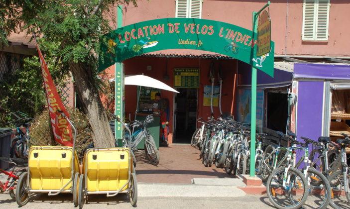 location de vélos Porquerolles vtt vélo électrique