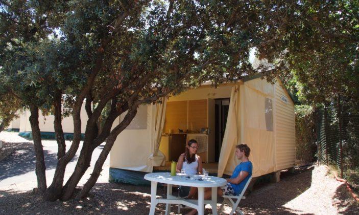 Camping le méditerranée hyeres giens badine plage