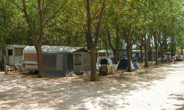 camping hyeres almanarre les colonnes