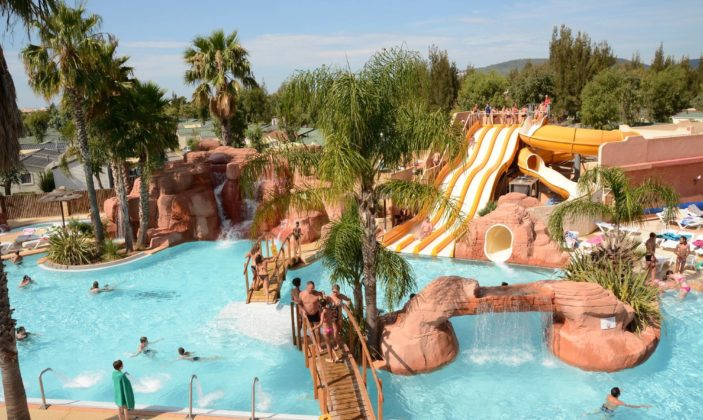 camping hyeres Les Palmiers l'ayguade piscine plage