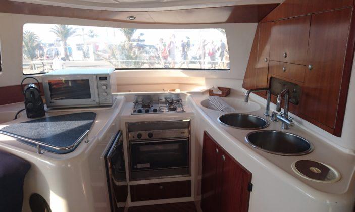 Location catamaran navigation croisière autour des îles Porquerolles Parc national