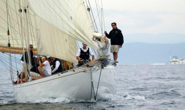 Yacht Club Porquerolles île organisation de régates Parc National