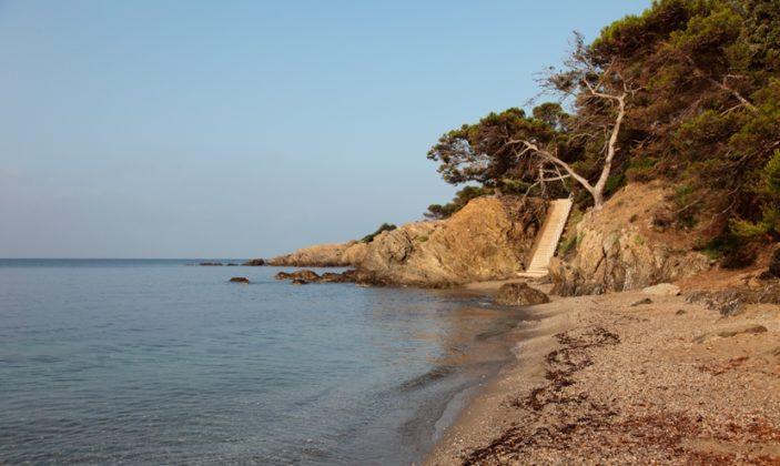 Plage Bauma – Hyères – presqu'île de Giens