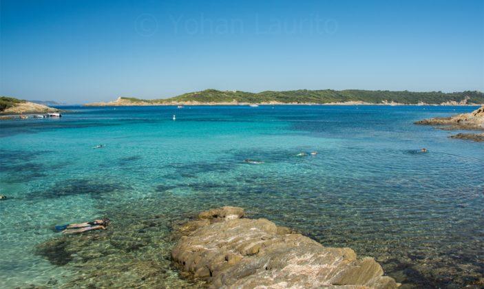 Plage Sud – île de Port Cros – Hyères